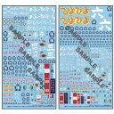 MGデカール ガールズ&パンツァー 大洗女子学園(2枚組)【GD-08】 モデルカステン