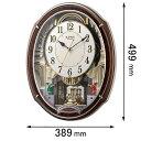 4MN545RH23 リズム時計 からくり時計 スモールワー...