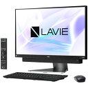PC-DA770KAB NEC 23.8型デスクトップパソコン LAVIE Desk All-in-one DA770/KA ダークシルバー LAVIE 2018年春モデル(Core i7/メモリ8GB/HDD3TB/Office H&B/TVチューナー)
