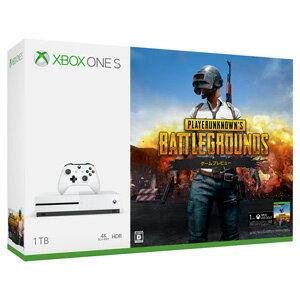 Xbox One S 1 TB (PlayerUnknown's Battlegrounds 同梱版)【お一人様一台限り】 マイクロソフト [234-00316 Xbox S PUBGドウコン]【返品種別B】