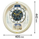RE-579-S セイコークロック 電波からくり時計 セイコ...