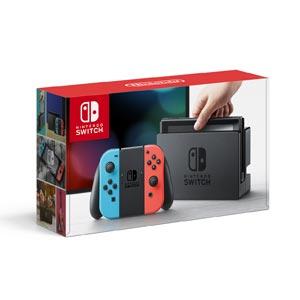 Nintendo Switch 本体【Joy-Con(L) ネオンブルー/(R) ネオンレッド】 任天堂 [HAC-S-KABAA NSWホンタイネオン]【返品種別B】