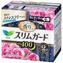ロリエスリムガード スイートローズの香り 特に多い夜用400(10コ入) 花王 ロリエスリムGロ-ズ10コ