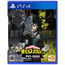 【PS4】僕のヒーローアカデミア One's Justice...