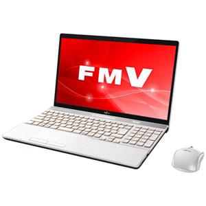 FMVA77C2W 富士通 15.6型ノートパソコン FMV LIFEBOOK AH77/C2 プレミアムホワイト [Core i7/メモリ 8GB/SSD 128GB+HDD 1TB/Office H&B 2016]※2018年夏モデル【送料無料】