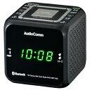 RAD-MBT100Z-K オーム ワイドFM/AM クロックラジオ(ブラック) AudioComm OHM