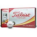 T6033S-J タイトリスト DT トゥルーソフト ゴルフ...