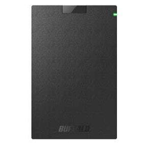 SSD-PG1.0U3-B/NL バッファロー USB3.1(Gen1)対応 外付けポータブルSSD 1.0TB【PlayStation4/4 PRO 動作確認済】【簡易パッケージモデル】 WEB限定商品の為、パッケージは簡素化