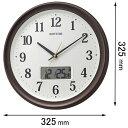 8FYA02SR06 リズム時計 電波掛け時計