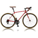 CAR-013 ORPHEUS(25579) オオトモ 自転車 700c ロードバイク(レッド) OTOMO CANOVER(カノーバー) ORPHEUS(オルフェウス)