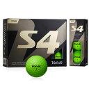 VOL-S4GR ボルビック ゴルフボール S4 (グリーン...