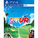 【封入特典付】【PS4】みんなのGOLF VR(PlaySt...