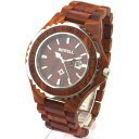 ZS-W100BG-WE ビーウェル BEWELL ビーウェル 天然木製腕時計【返品種別B】