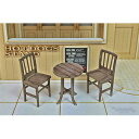 1/32〜1/35 ストリートアベニュー 小さなテーブルとイス【SA-011】 cobaanii mokei工房(コバアニ模型工房)