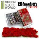 ジオラマ素材 満開の赤い花 6mm【GSWD-120】 ディティールアップパーツ グリーンスタッフワールド