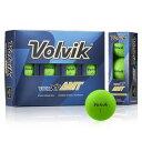 VOLVIK-AMTGRN ボルビック ゴルフボール ビビッド エックスティー エーエムティー(グリ...