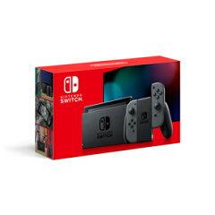 【新モデル】Nintendo Switch 本体【Joy-Con(L)/(R) グレー】 任天堂 [HAD-S-KAAAA NSWホンタイグレー シンモデル]