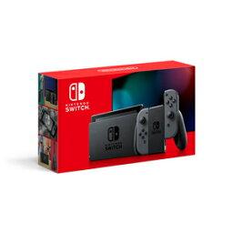 【新モデル】Nintendo Switch <strong>本体</strong>【Joy-Con(L)/(R) グレー】 任天堂 [HAD-S-KAAAA NSWホンタイグレー シンモデル]