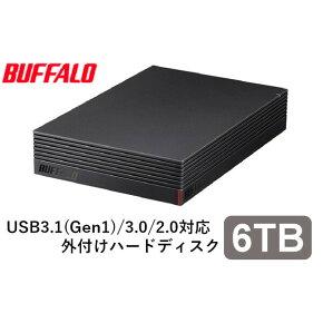 HD-EDS6.0U3-BA バッファロー パソコン&テレビ録画用外付けハードディスク 6.0TB