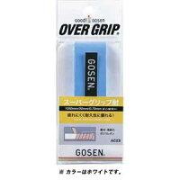 GOS-AC23W ゴーセン スーパーグリップ耐(ホワイト・長さ1050mm×幅30mm×厚さ0.7mm) GOSEN テニス・バドミントン用オーバーグリップの画像