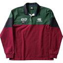 CCC-RA4960969-L カンタベリー ロングスリーブ ラガーシャツ(マルーン・サイズ:L) CANTERBURY L/S RUGGER SHIRT