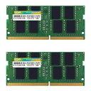 SP032GBSFU266B22 シリコンパワー PC4-21300 (DDR4-2666)260pin DDR4 SODIMM 32GB(16GB×2枚)