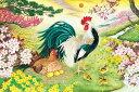 泉和美 開運 金鶏図(きんけいず)1000ピース アップルワン
