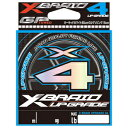 エックスブレイド アップグレード X4 200m(0.6ゴウ/12lb) X-BRAID エックスブレイド アップグレード X4 200m(0.6号/12lb) XBRAID UPGRA..