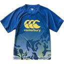 CCC-RG3000825-M カンタベリー メンズ トレーニングティ(ロイヤルブルー・サイズ:M) CANTERBURY TRAINING TEE