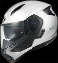 OGK_RYUKI_WH_L OGKカブト システムヘルメット(ホワイトメタリック L ) RYUKI