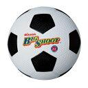 F4-W/BK ミカサ サッカーボール 4号球(ゴム) MIKASA (ホワイト/ブラック)