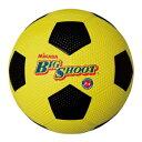 F4-Y/BK ミカサ サッカーボール 4号球(ゴム) MIKASA (イエロー/ブラック)