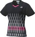 YO-20553-007-L ヨネックス レディース ゲームシャツ(スリム)(ブラック・サイズ:L) YONEX