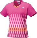 YO-20553-654-S ヨネックス レディース ゲームシャツ(スリム)(ベリーピンク・サイズ:S) YONEX
