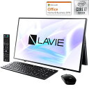 PC-A2797BAB NEC 27.0型デスクトップパソコン LAVIE A2797/BAB - ファインブラック (Core i7/ 16GB/ 256GB SSD 4TB HDD/ TV機能)Microsoft Office Home & Business 2019