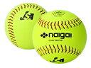 138202 ナイガイ ソフトボール 革製3号球(一般・中学生用) 6個入り 内外ゴム naigai