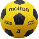 MT-F4Y(モルテン) モルテン サッカーボール 4号球(ゴム) Molten 亀甲ゴムサッカーボール(黄×黒)