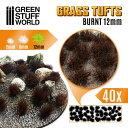 草むら 長さ12mm バーント(焦茶)(粘着剤付) 【GSWD-10667】 グリーンスタッフワールド