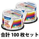 VHW12NP50SV1【税込】 バーベイタム 2倍速対応 DVD-RW 50枚パック4.7GB ホワイトプリンタブル [VHW12NP50SV1]【返品種別A】
