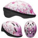 BELL ZOOM2 ズーム2 ピンクフラワー ヘルメット/ ベル 自転車 子供用ヘルメット【PT_UP】