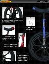一輪車 ファイヤードラゴン 16インチ 18インチ / ダイワサイクル((年内配送不可))