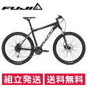 FUJI NEVADA 27.5 1.5D ネバダ 27.5x 2.2 Matte Black/Silver 2017年/フジ スポーツバイク マウンテンバイク【送料無料】
