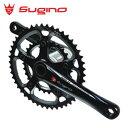 sugino OX901D CLASSIC クラシック ブラック クランク長:170mm クランクセット/ スギノ 自転車パーツ【送料無料】
