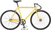 【完全組み立て済み】【2015年モデル】【限定特価】FUJI(フジ)シングルスピードバイクFEATHER(フェザー)マスタード