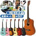 アコースティックギター 初心者セット アコギ 15点 S.ヤイリ YM-02 (ミニギター S.Yairi ギター 初心者 入門 セット)