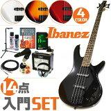 以世界的品牌「aibanizu 电基本」的基本组套弹憧憬的那个曲子!初学者组套电吉他基本 aibanizu 【豪华 入门组套】Ibanez 基本[初心者セット エレキベース アイバニーズ 【14点 入門セット】 Ibanez GSR320 エレキベー