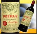 [1995] シャトー ペトリュス AC ポムロール 750ml 赤 パーカーポイント95+点! 【ラベルにしわ・傷あり】