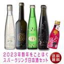 【送料無料】2020年新年をことほぐスパークリング日本酒セッ...