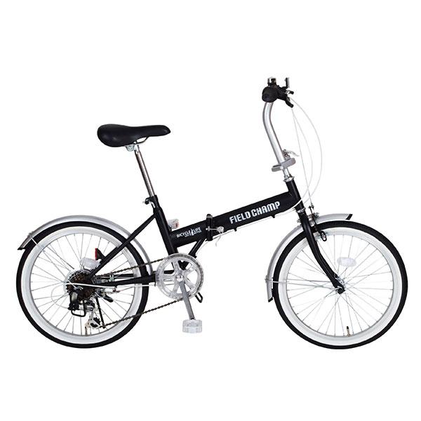 FIELD CHAMP FDB206S【MG-FCP206】 / 自転車 サイクリング スポーツ 【】(北海道・沖縄・離島送料別途) 折畳自転車 20インチ 6段変速 おりたたみ ミニベロ フォールディング 送料無料