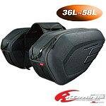コミネ SA-212 モールデッドサドルバッグ Exp KOMINE SA-212 Molded Saddle Bag Exp 09-212